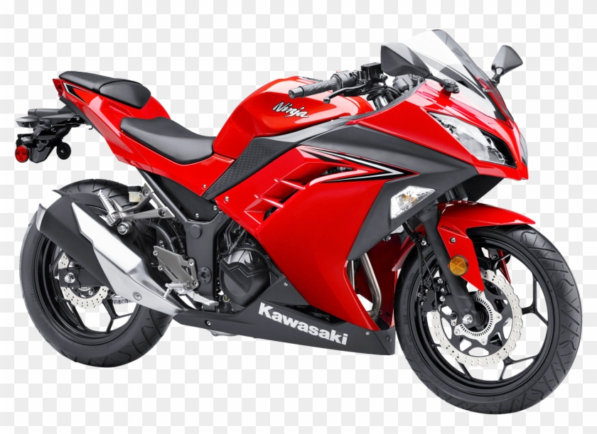 Kawasaki Ninja 300 Abs Motorcycle Bike Png Image.