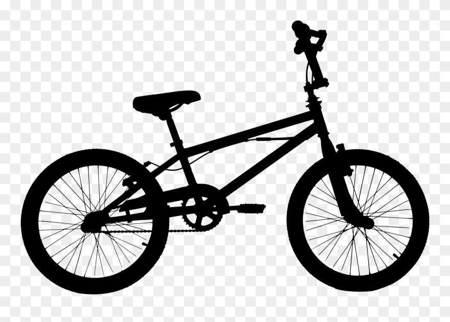 Bicycle Silhouette Clip Art At Getdrawings Com.