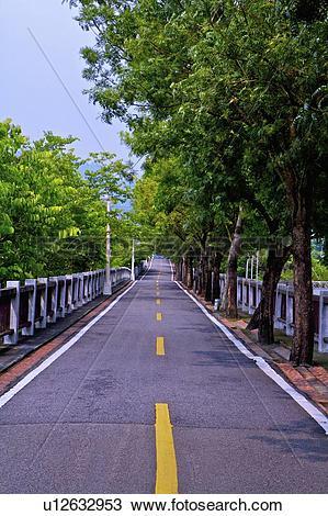 Stock Photo of Taiwan, Taichung, Dongfong Bikeway u12632953.