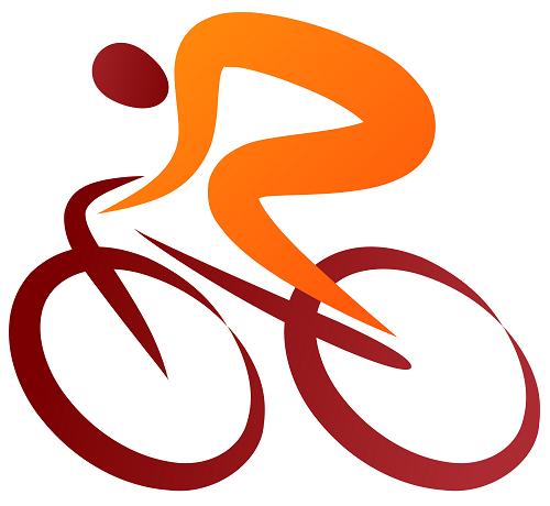Biking Clip Art.