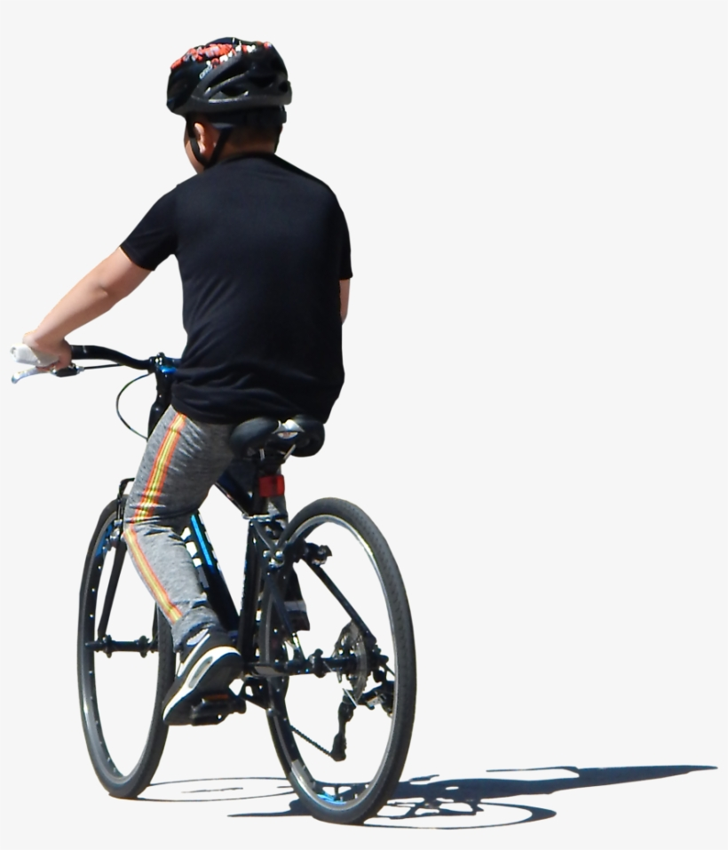 Person On Bike Png.