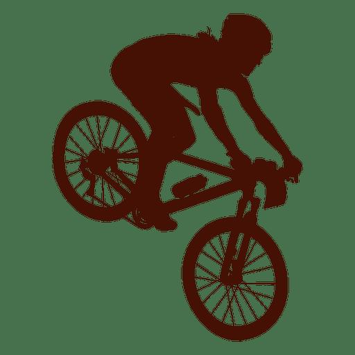 Mountain bike downhill.
