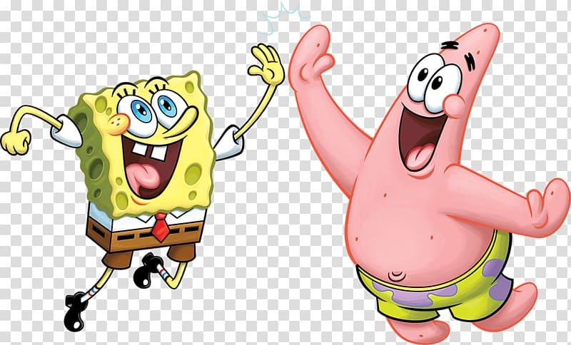 Patrick Star Plankton and Karen Nickelodeon Squidward.