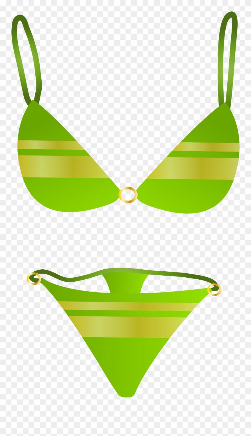 Swimsuit top,Swimsuit bottom,Bikini,Swimwear,Clothing,Green.