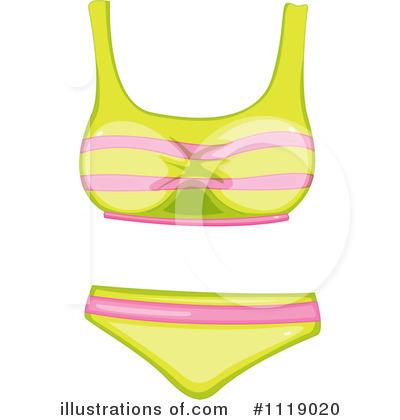 Bikini Clipart #1119020.