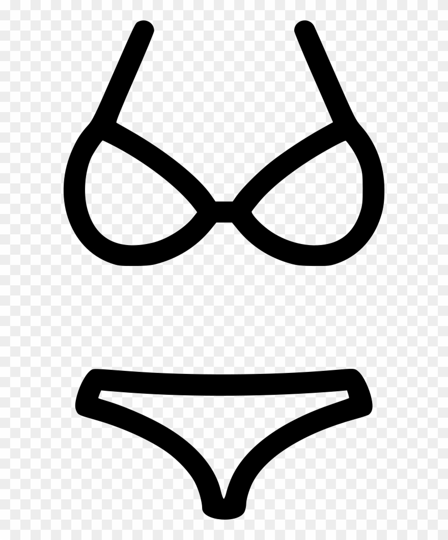 Bikini Clipart Vector Art.
