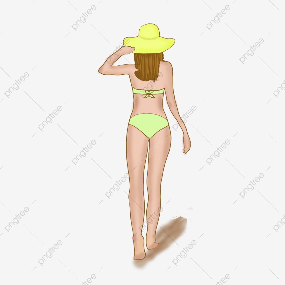 Sexy Bikini Girls, Sexy, Bikini, Girls PNG Transparent Clipart Image.