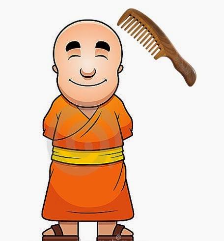 Pensil & Kertas: Sisir untuk Biksu.