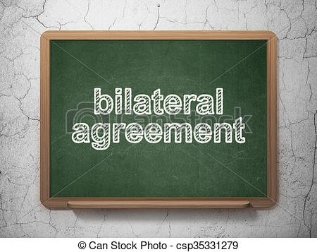 Stock Illustrations of Insurance concept: Bilateral Agreement on.