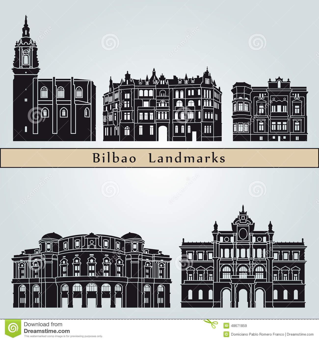 Bilbao Stock Illustrations.