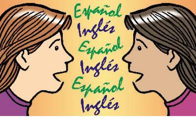 Bilingual education clipart.