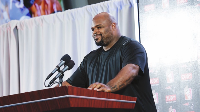 Bill Belichick: Vince Wilfork never failed to make weight at.