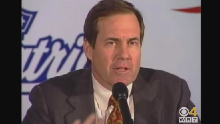 TBT: Bill Belichick introduced as Patriots head coach in 2000.