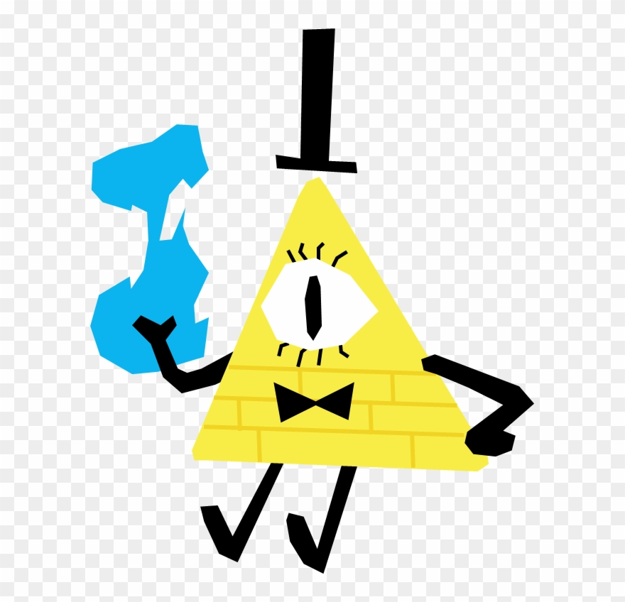 Bill Cipher, Dipper Pines, Gravity Falls, Triangle,.