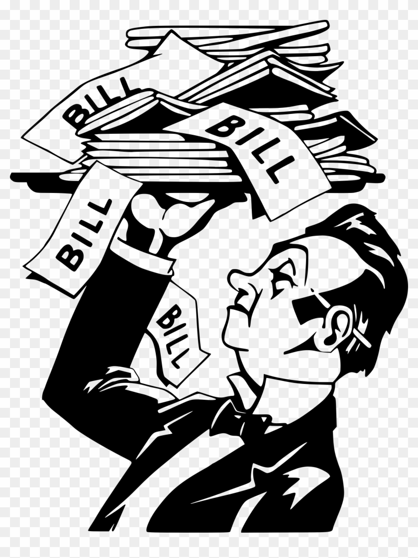 The Bill Is Served Icons Png.