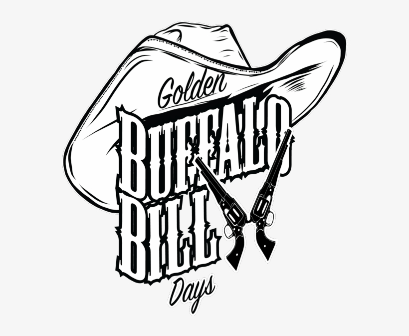 Buffalo Bill Clipart Black And White.
