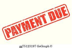 Payment Due Clip Art.