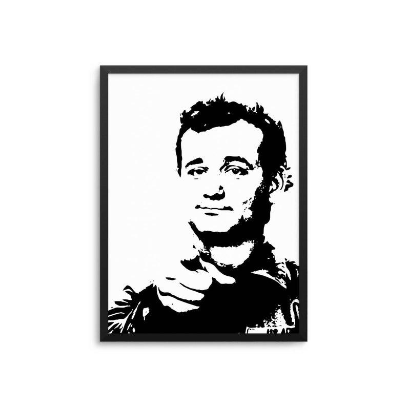 Bill Murray Stripes Movie Poster.