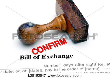 Picture of Bill of exchange k28190647.
