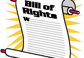 The bill of rights clipart 6 » Clipart Station.