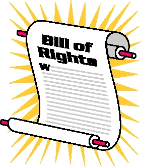 108 Bill Of Rights free clipart.