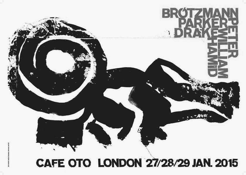 John Dikeman / Hamid Drake / William Parker (trio) ← Cafe OTO.