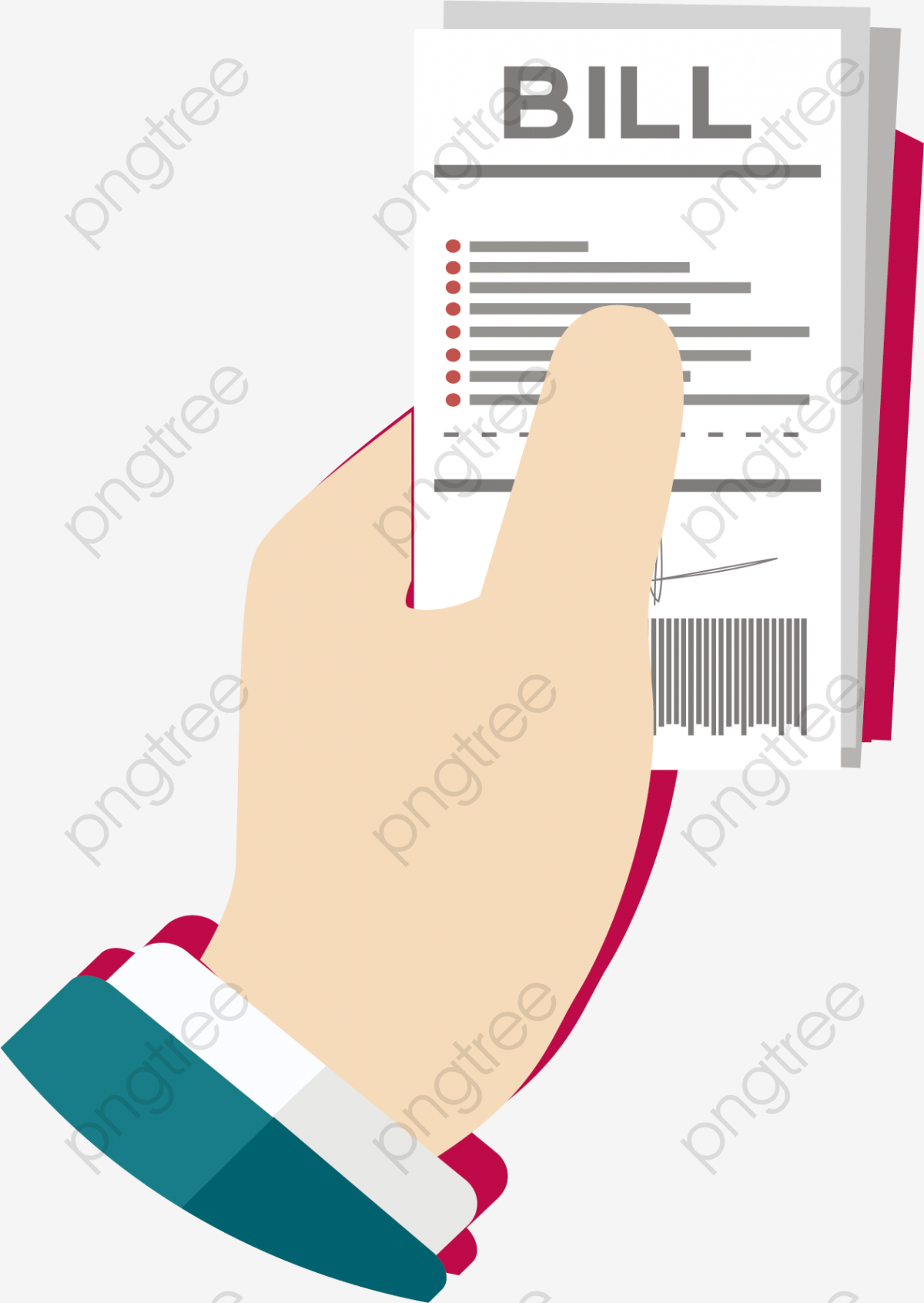 View The Bill, Vector Material, Bill, Pay Bill PNG and Vector with.