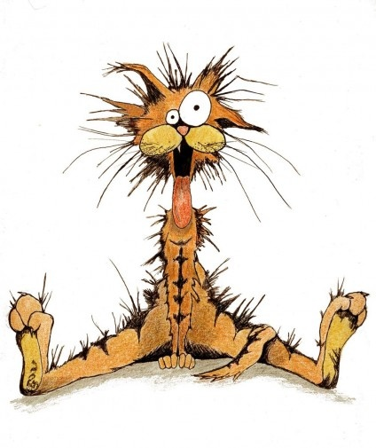 Bill The Cat Clipart.