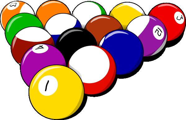 Billiards Ball Clipart.