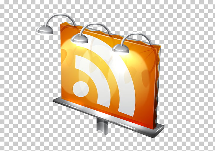 Web feed RSS Blog ICO Icon, billboard PNG clipart.