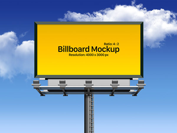 100+ Free Outdoor Advertisment Branding Mockup PSD Files.
