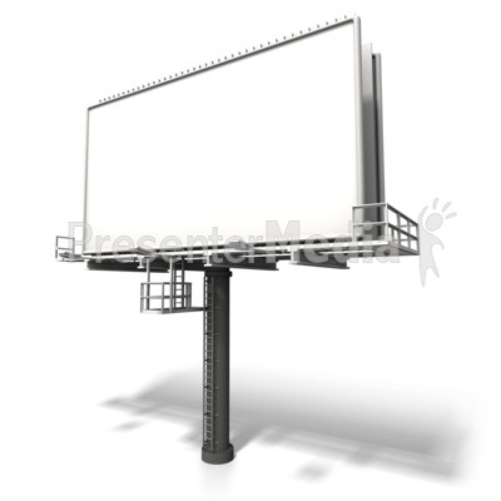 angled billboard display signs and symbols great clipart forBest.