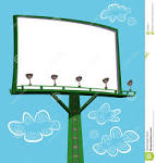 Billboard Sign Clip Art.