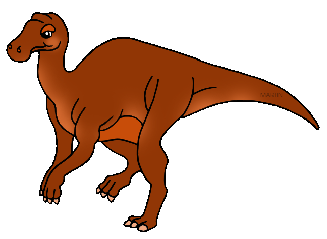 Free United States Clip Art by Phillip Martin, State Fossil of.
