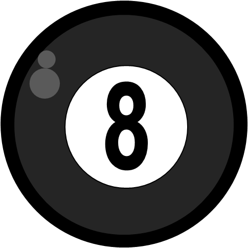 Billiard ball clipart #13