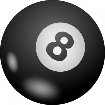 Pool ball clip art.