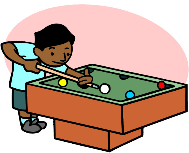 Billiards Clipart.