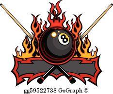 Billiard Clip Art.