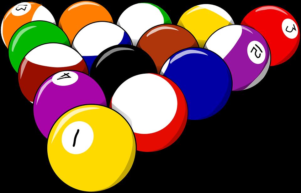 Billiard sports clipart #1