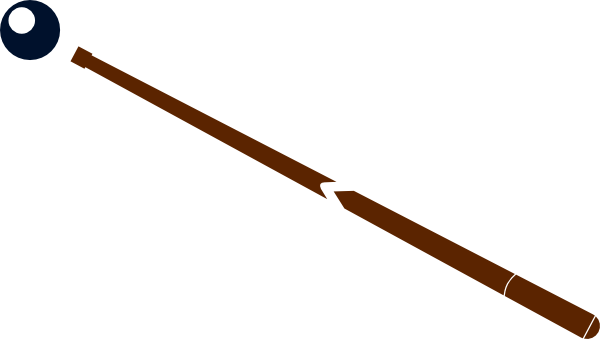 Pool Stick Clipart.