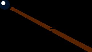 Billiards Stick Clip Art.