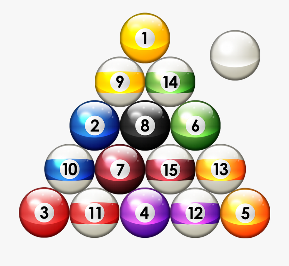 8 Ball Pool Clipart Fire.