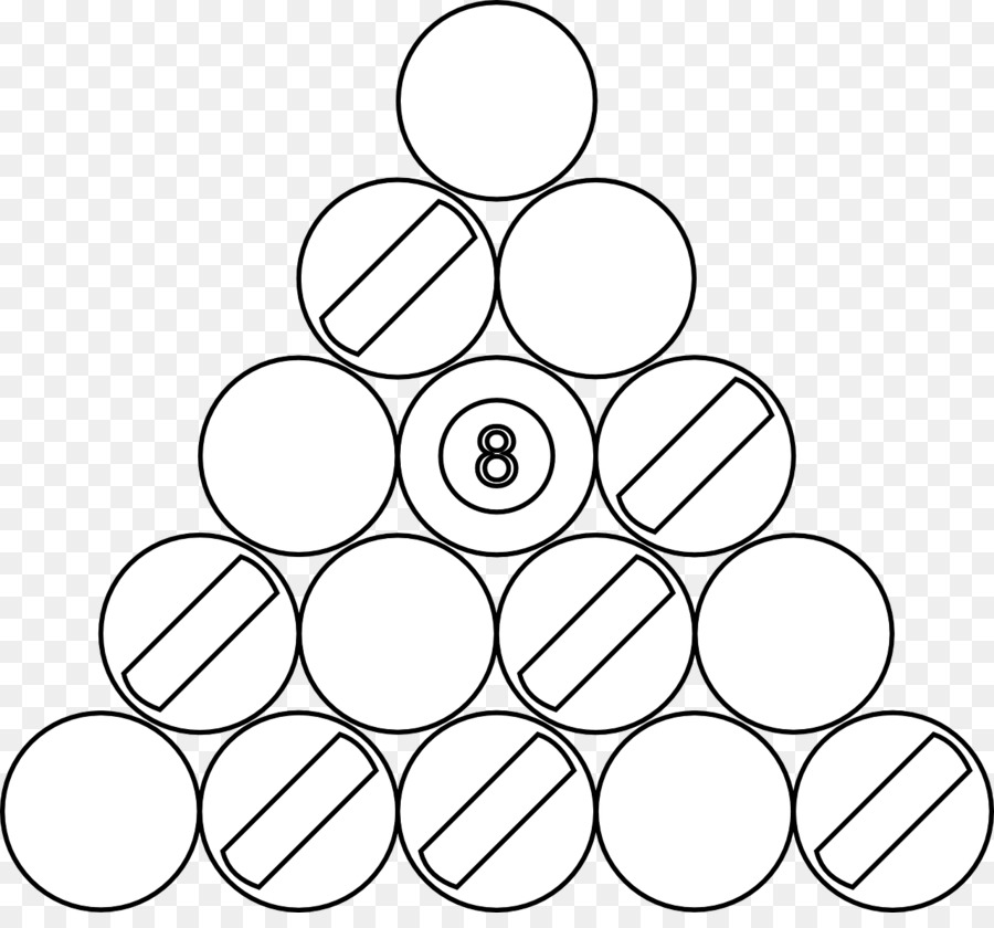 Download 10 balls black and white clipart Black and white.