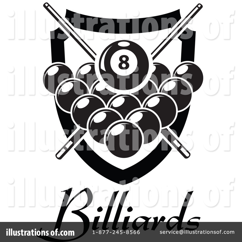 Billiards Clipart #1265968.