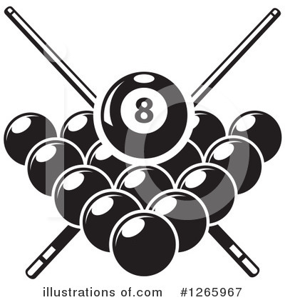 Billiards clip art.