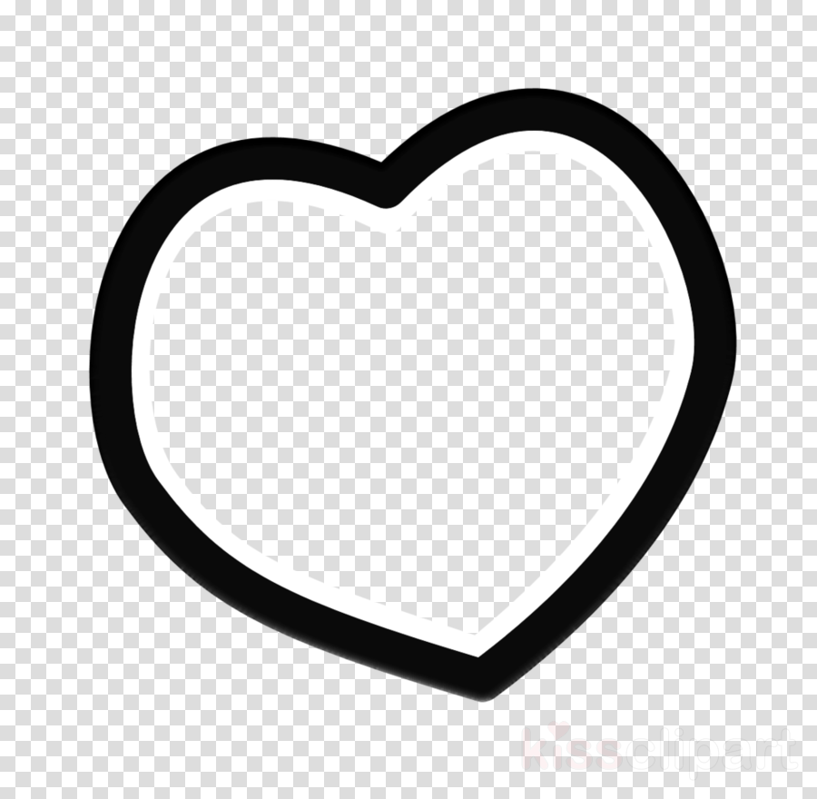 Love Black And White clipart.