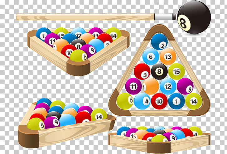 Pool Billiards Billiard ball Rack , Snooker material PNG.