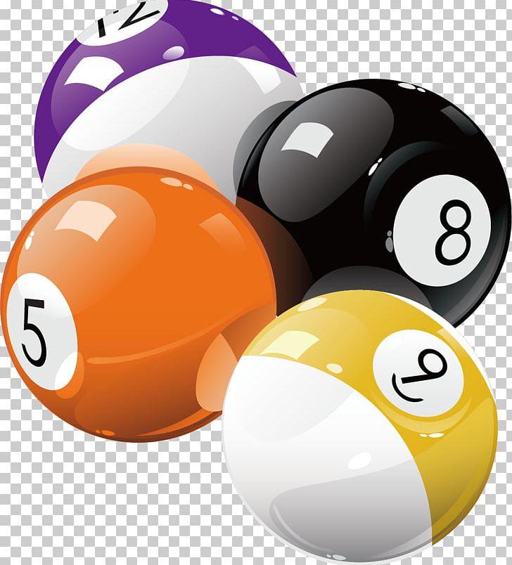 Pool Billiard Ball Billiards Eight.