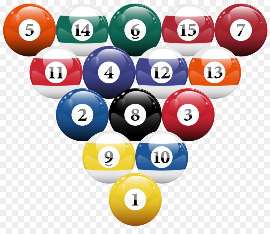 pool & snooker png clipart Billiard Pool Balls Billiards clipart.