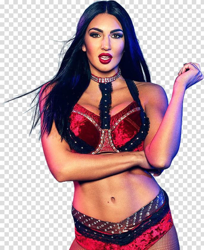 Billie Kay Evolution transparent background PNG clipart.